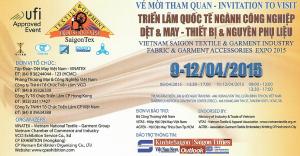 2015 SaigonTex EXPO